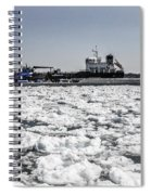 Shipping Season Has Started Spiral Notebook