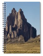 Shiprock Panorama - North West New Mexico Spiral Notebook