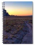 Shiprock Sunset Spiral Notebook