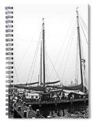 Ships Of Volendram Spiral Notebook