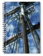 Ships Rigging Spiral Notebook