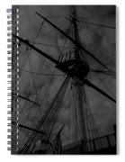 Ships Silhouette Spiral Notebook