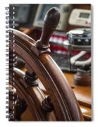 Ships Wheel Spiral Notebook