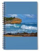 Shipwreck Beach Shorebreaks 1 Spiral Notebook