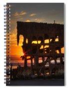 Shipwreck Sunburst Spiral Notebook