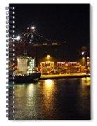 Shipyards 2 Callao Port Lima Peru Spiral Notebook