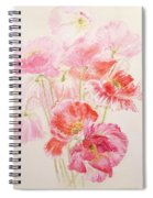 Shirley Poppies Spiral Notebook