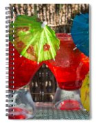 Shirley Temple Cocktail Spiral Notebook
