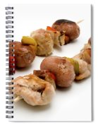 Shish Kebab Spiral Notebook