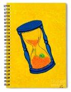 Shitluck Blue Spiral Notebook