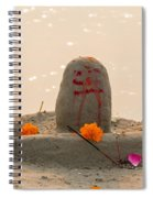 Shivling From Sand Spiral Notebook