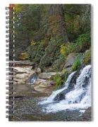 Shoal Creek Area Waterfalls Spiral Notebook