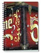 Shoe Shine Kit Spiral Notebook