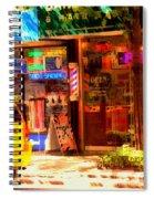 Shoe Shine Spiral Notebook
