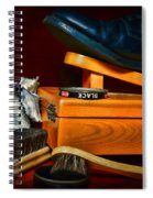 Shoe - Time For A Shine Spiral Notebook