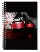 Shoeluv Painted Spiral Notebook