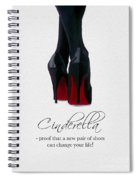 Shoes Can Change Your Life Spiral Notebook