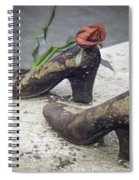 Shoes On The Danube Bank Spiral Notebook