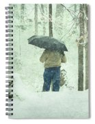 Shootin' In The Storm Spiral Notebook