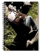 Shooting The Light  Spiral Notebook