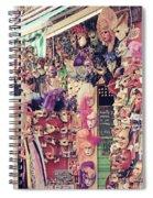 Shop In Venice Spiral Notebook