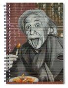 Shop Window Metal Blind Einstein Spiral Notebook
