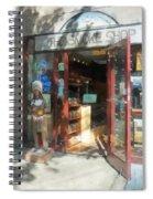 Shopfronts - Smoke Shop Spiral Notebook