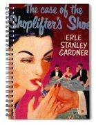Shoplifter's Shoe. Vintage Pulp Fiction Paperback Spiral Notebook