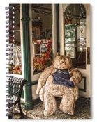 Shopping's A Bear Spiral Notebook