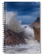 Shore Acre Storm Spiral Notebook