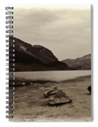 Shore Of A Loch In The Scottish Highlands Spiral Notebook