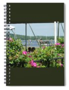Shore Scene Spiral Notebook