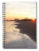 Shoreline Sunset Spiral Notebook