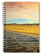 Shores Of Lake Michigan Spiral Notebook