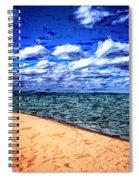 Shores Of Lake Superior Spiral Notebook