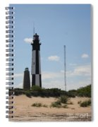 Short And Tall Cape Henry Lights Spiral Notebook