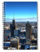 Short Days Long Season Spiral Notebook