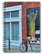 Short North Columbus Artwork Spiral Notebook