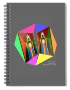 Shots Shifted - Le Pat 7 Spiral Notebook
