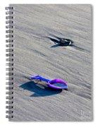 Pink Toy Spade Spiral Notebook