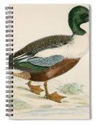 Shoveler Spiral Notebook