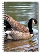 Shoving Off Spiral Notebook
