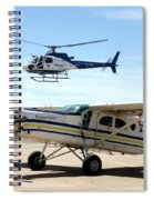 Show Of Force Spiral Notebook