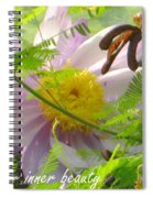Show Your Inner Beauty Spiral Notebook