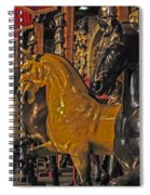 Showcase Of Royal Horses Spiral Notebook