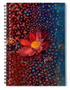 Showers To Flowers Spiral Notebook