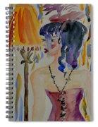 Showgirl Spiral Notebook