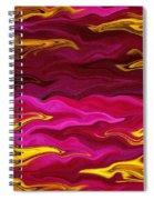 Showpiece Waves Spiral Notebook