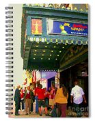 Showtime Toronto's Broadway Monty Python Spamalot Theatre District The Plays The Thing City Scenes Spiral Notebook