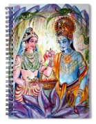 Shree Sita Ram Spiral Notebook